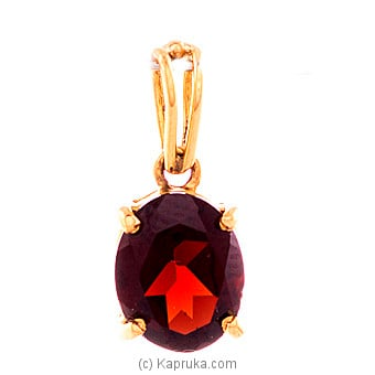 22K Gold Pendant Set With Color Stone at Kapruka Online for specialGifts