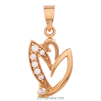 22K Gold Pendant Set With 7(c/z) Rounds at Kapruka Online for specialGifts