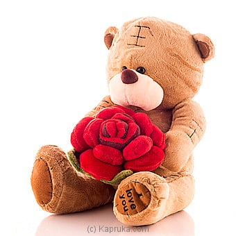 Tatty Bear With A Rose at Kapruka Online for specialGifts