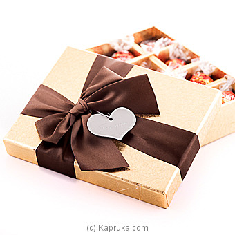 Square Gold Lindor Box at Kapruka Online for specialGifts