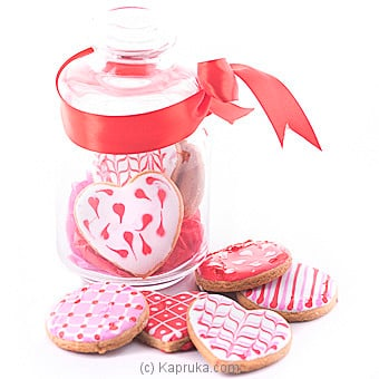 Java Sugar Cookie in a Glass Jar at Kapruka Online for specialGifts