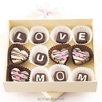 Sweet Bud  Love U Mom Chocolate Box at Kapruka Online for specialGifts