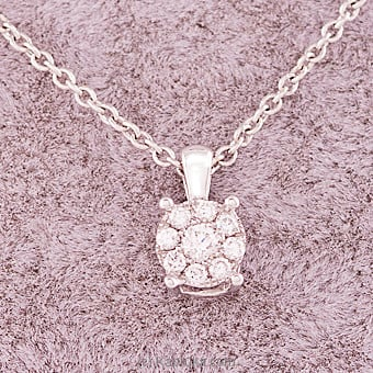 18k White Gold Pendent Set (RPH 01 .75B) at Kapruka Online for specialGifts