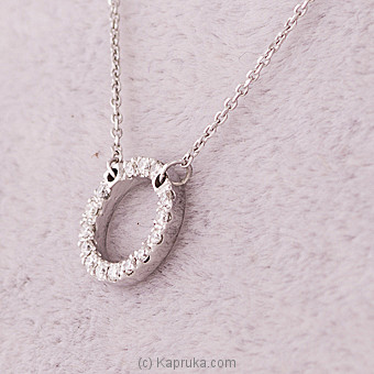 18k White Gold Pendent Set With (AJP 2981 S) at Kapruka Online for specialGifts