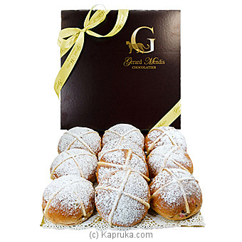 Hot Cross Buns, Vanilla(GMC) at Kapruka Online for specialGifts