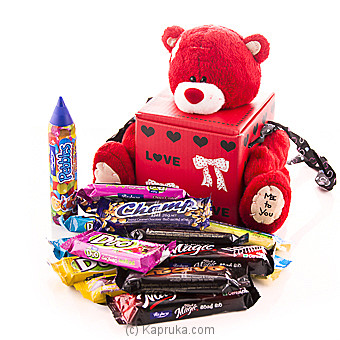 Choco Treats With Cuddles at Kapruka Online for specialGifts