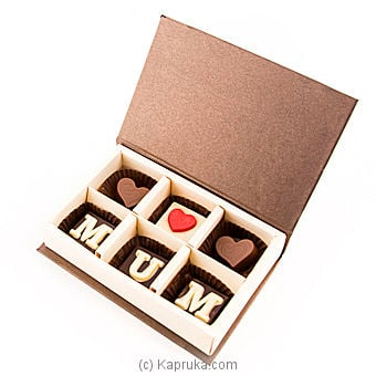 ` Mum` 6 Piece Chocolate Box( Java ) By Java at Kapruka Online forspecialGifts