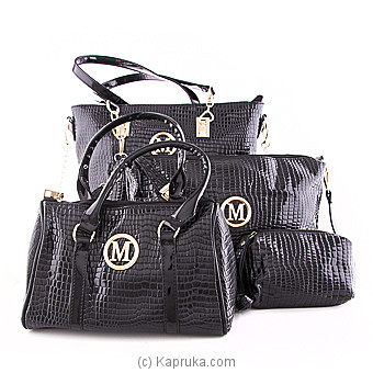 Luxury Black shoulder BagSet at Kapruka Online for specialGifts