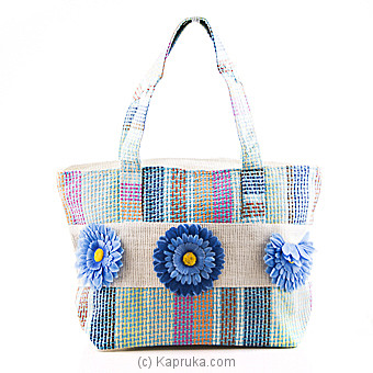 Summer Time Light Blue Flower Bag at Kapruka Online for specialGifts