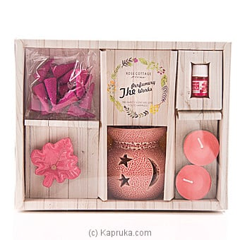 Rose Cottage Aroma Gift Set at Kapruka Online for specialGifts