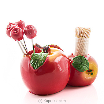Funny Fruit Forks Set And Toothpick Holder at Kapruka Online for specialGifts