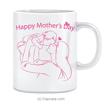 Happy Mother`s Day White Mug at Kapruka Online for specialGifts