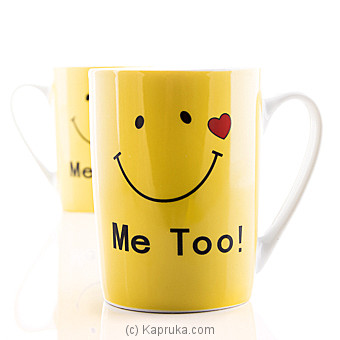 Love You Too Couple Mug at Kapruka Online for specialGifts