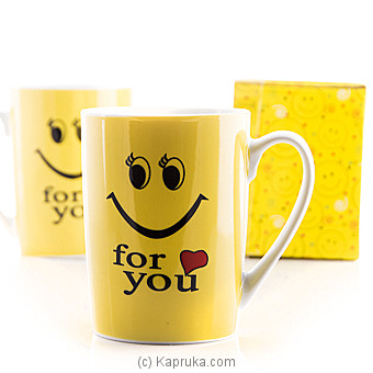 Smiley For You Couple Mug at Kapruka Online for specialGifts