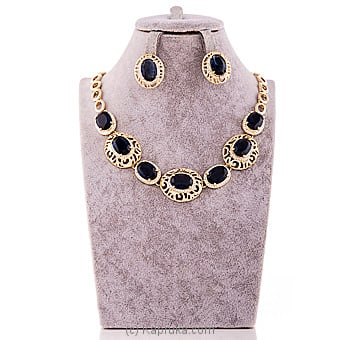 Blue Crystal Jewelry Set at Kapruka Online for specialGifts