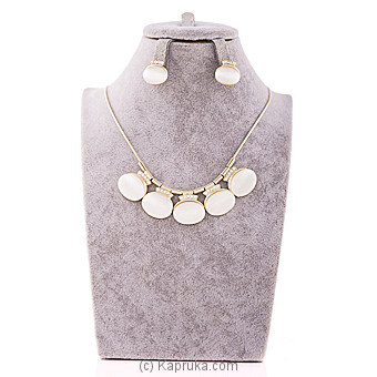 White Stones Jewelry Set at Kapruka Online for specialGifts