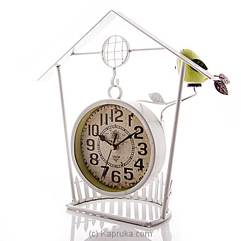 Vintage Bird Nest Hanging Clock at Kapruka Online for specialGifts