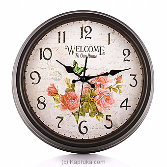 Rose Vintage Wall Clock at Kapruka Online for specialGifts