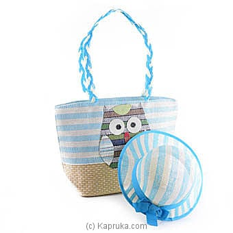Colorful Owl Designs Bag With Hat at Kapruka Online for specialGifts