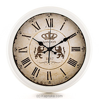 Vintage London Wall Clock at Kapruka Online for specialGifts