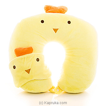 Travel Plush Neck Pillow With Eye Mask at Kapruka Online for specialGifts