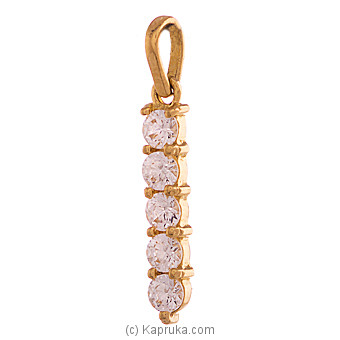 22k Gold Pendant Set With 5(c/Z) Rounds at Kapruka Online for specialGifts