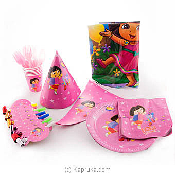 Dora The Explorer Kids Party Pack at Kapruka Online for specialGifts