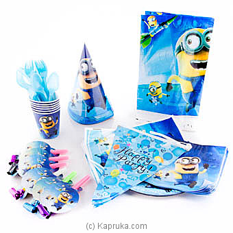 Minions Kids Party Pack at Kapruka Online for specialGifts