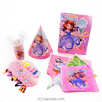 Sofia Kids Party Pack at Kapruka Online for specialGifts