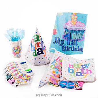My 1st Birthday Kids Party Pack at Kapruka Online for specialGifts