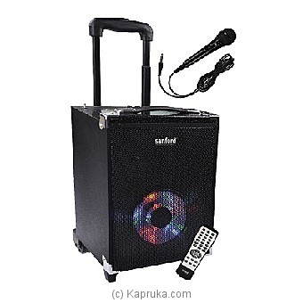 Sanford Rechargeable Trolley Speakers (SF-2261RTS) at Kapruka Online for specialGifts