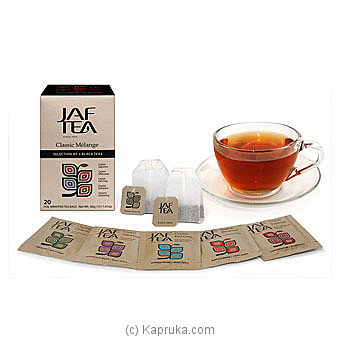 JAF TEA Classic Gold Collection Classic Melange 20 at Kapruka Online for specialGifts
