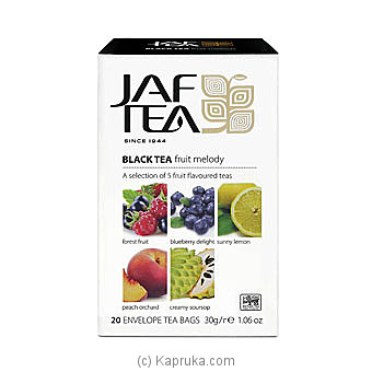 JAF TEA Pure Fruits Collection Black Tea Fruit Melody at Kapruka Online for specialGifts