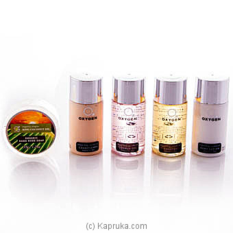 O2 Oxygen Bath Essentials Travel Gift Set -50ml at Kapruka Online for specialGifts