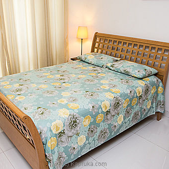 Floral design 100% Cotton Bed Sheet- at Kapruka Online for specialGifts