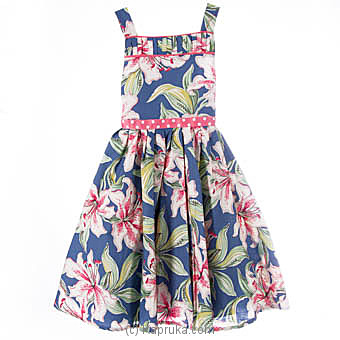 Printed Flowers Dress at Kapruka Online for specialGifts