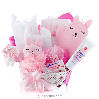 Adore Johnson`s Pink GIft Pack at Kapruka Online for specialGifts