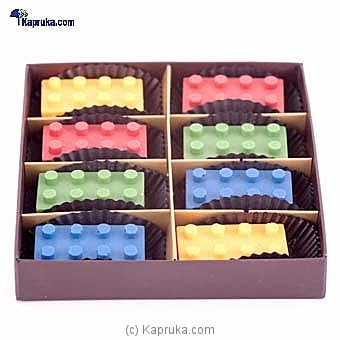 Chocolate Legos 8 Piece(GMC) By GMC at Kapruka Online forspecialGifts