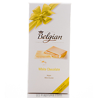 Belgian White Chocolate - 100g at Kapruka Online for specialGifts