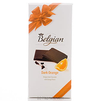Belgian Dark Chocolate With Orange Pieces -100g at Kapruka Online for specialGifts