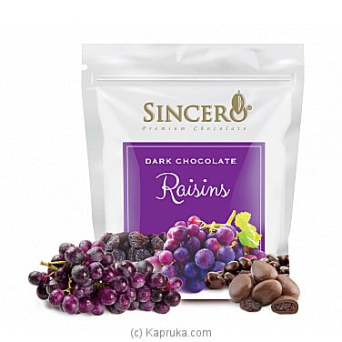 Sincero Raisins Dark Chocolates at Kapruka Online for specialGifts