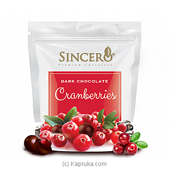 Sincero Cranberries Dark Chocolates at Kapruka Online for specialGifts