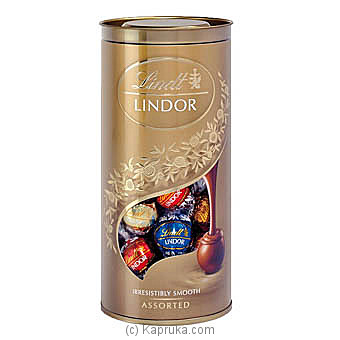 Lindt Assorted Lindor Tube -400g at Kapruka Online for specialGifts