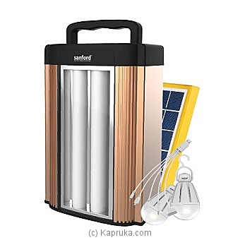 Sanford LED Emergency Lantern With Solar Panel (SF4373LED EL) at Kapruka Online for specialGifts