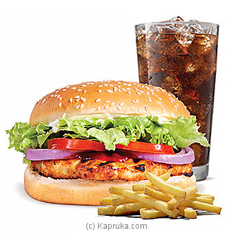 Chicken Whopper  Meal-at Kapruka Online forspecialGifts