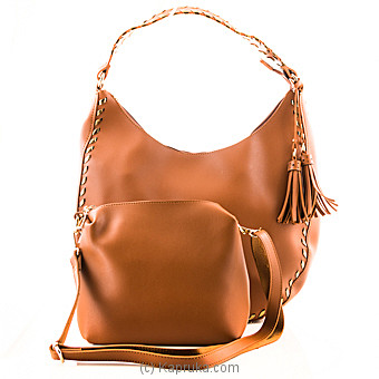 Classy Brown Ladies Handbag at Kapruka Online for specialGifts