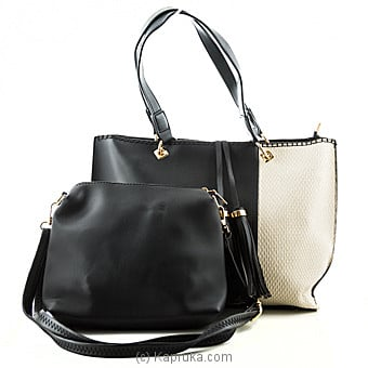 Luxury Double Colour Handbag at Kapruka Online for specialGifts