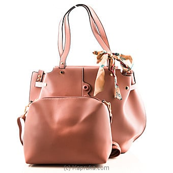 Trendy Pink Ladies Handbag at Kapruka Online for specialGifts