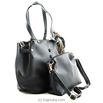 Trendy Black Ladies Handbag at Kapruka Online for specialGifts