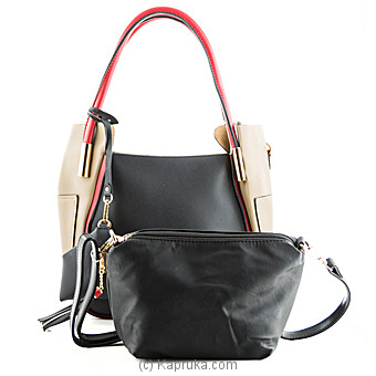 Color Block Ladies Handbag at Kapruka Online for specialGifts